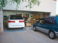 Garage storage solutions for a properly optimized space for 2 and a half car garage dimensions