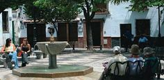 Albayzin Granada. Plaza