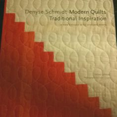 @denyseschmidt's newest book is beautiful and makes me fall in love with quilting all over again!