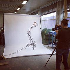 "48 vind-ik-leuks, 2 reacties - Kiki v Eijk Joost v Bleiswijk (@kikiandjoost) op Instagram: 'Photo Shooting of joosts new series ""sketched"" #sketched #marielleleenders #curiouscollections…'"