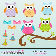 Love these owls! #scrapbooking #digital