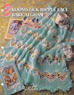 Broomstick-Ripple-Lace-Baby-Afghan-crochet-pattern