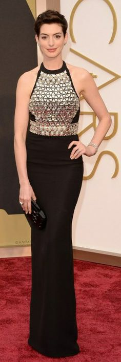 RED CARPET - #OSCARS2014 - ANNE HATHAWAY
