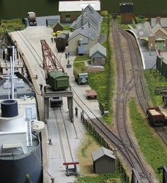 Dock and station. by smudgeloco, via Flickr: Dock and station. by smudgeloco, via Flickr