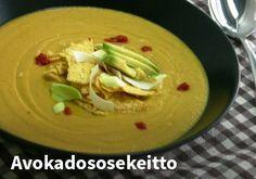 Avokadososekeitto Resepti: Maggi #kauppahalli24 #ruoka #resepti #avokado