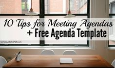 meeting agenda template and tips Meeting Agenda Template, Work Meeting, Real Estate Office, Staff Meetings, Meeting Planner, Girl Guides, Meet The Team, Motivate Yourself, Project Management