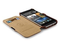 Luxury-ICARER-Genuine-Leather-Case-Skin-Flip-Cover-For-HTC-One-2-M8-2014
