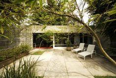 Beautiful House with Minimal Impact to Existing Sit  by José Armênio de Brito Cruz
