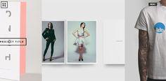 20 Stunning Black & White Portfolio Wordpress Themes | Web & Graphic Design | Bashooka