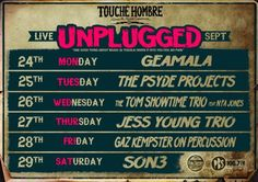 Unplugged: Touche Hombre | free concerts @ Lonsdale Street,  CBD
