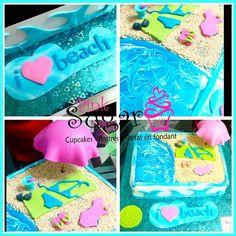Torta  i  beach pinksugar #pinksugar #cupcakes  #homemade  #casero  #barranquilla #pasteleria #reposteriacreativa #tortas #fondant #reposteriabarranquilla #happybirthday  #cake #baking  #galletas #cookies  #pinksugar #wedding #buttercream #vainilla #minion #oreo #passionfruit #cupcakesbarranquilla #brownie #brownies #chocolate #teamo #amoryamistad #amor #beach #playa