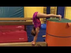The Beaming Gymnast Sanctuary: Compulsory beam handstand circuit
