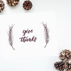The new give thanks print in merlot! Find it on journeyjoyful.etsy.com in whatever size your heart desires.  #givethanks by journeyjoyful