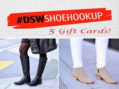 Britt+Whit DSW Shoe Giveaway!  Click through to enter!