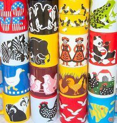 Vintage Waechtersbach mug collection