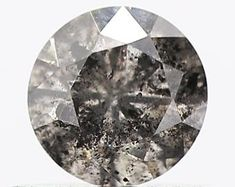 FANCY-ROSECUT-GREY-BLACK-BLUE-SLICE-BEAD LOOSE by SHREEDIAMOND Rough Diamond, Round Cut Diamond, Diamond Shapes, Pepper Color, Salt And Pepper Diamond, Colored Diamonds, Natural Diamonds, Diamond Jewelry, Fancy