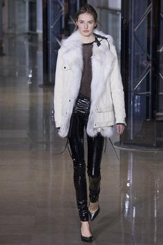 Anthony Vaccarello Fall 2016 Ready-to-Wear Fashion Show - Sanne Vloet (Viva)