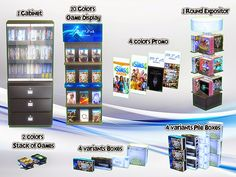 My Sims 4 Blog: Videogames Store - TS2 to TS4 Conversion by sim4fun