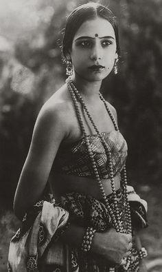 Seeta Devi, 1925 by pictosh, via Flickr
