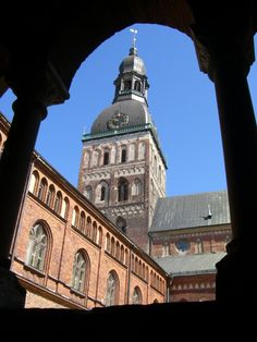 Riga Cathedral, Riga, Latvia #travel #photos #latvia