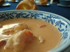 shrimp bisque.  although this recipe is from the bariatric eating website, several ingredients need to be omitted or swapped.