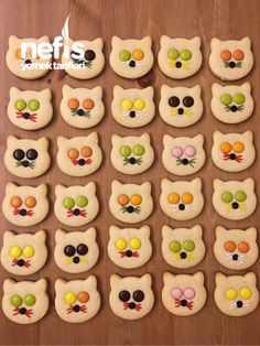Bonibonlu Kedi Kurabiye – Nefis Yemek Tarifleri Puff pastry cookies recipes # flavor # presentation # presentation is important Cookies Cupcake, Cat Cookies, Cookies For Kids, Cookies Et Biscuits, Yummy Recipes, Cookie Recipes, Dessert Recipes, Yummy Food, Puff Pastry Recipes