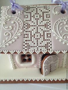 Кулинарные сувениры ручной работы. Ярмарка Мастеров - ручная работа Пряничный домик. Handmade.