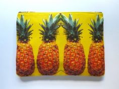 Celebrate Mardi Gras, with Ten Things We Love, Made in Louisiana, Like DVRA Pineapple Pouch