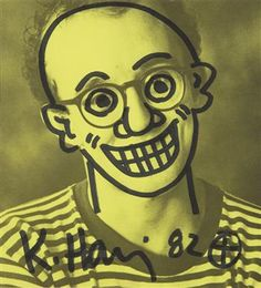 Keith Haring, Untitled (Self-Portrait), 1982
