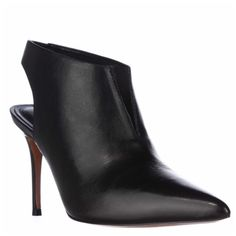 Product Image: Marc Fisher Talia Pointed-Toe Heels - Black Leather