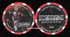 #LasVegasCasinoChipo of the Day is a $5 Hard Rock Scorpions you canget here https://www.all-chips.com/ChipDetail.php?ChipID=19471 you can get the $25 here https://www.all-chips.com/ChipDetail.php?ChipID=19470 #CasinoChip #LasVegas #Scorpions
