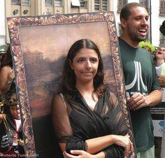 """Street """"Blocos"""", Mona Lisa"""