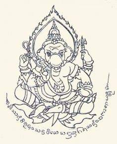 Ganesh Sak Yant Good info on this site for when I finally can go