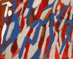 Acrylique sur papier contre collé sur panneau. Dimension: 46x55 cm www.fondationsolangebertrand.org