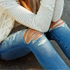 Memories are made to last in AEO Destroyed Denim. What's your favorite fit?