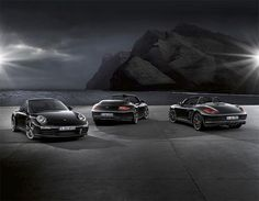 The 2012 Porsche Boxter S Black Edition is a shining example of when budget goes bad ass. The Black Edition Boxter takes the entry-level Porsche to 911 Porsche 911, Porsche Boxster S, Black Porsche, Porsche Carrera, Black Car Wallpaper, Sports Car Wallpaper, Hd Wallpaper, Super Sport Cars, Super Cars