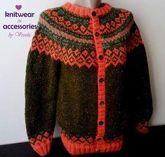 Icelandic Cardigan Tweed Wool Yarn Cardigan Nordic Wool Vest Jacquard Unisex Cardigan Sweater Bolero Fairisle