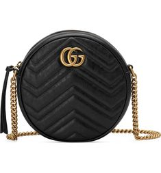 f4a79d60beb5 Gucci Mini Marmont 2.0 Leather Canteen Shoulder Bag | Nordstrom