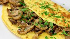 Omelet met champignons