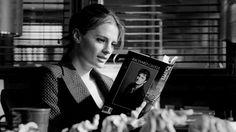 Beckett reading Storm Fall