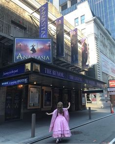 Christy Altomare at Anastasia after the Macys Thanksgiving Day Parade in New York City!!!