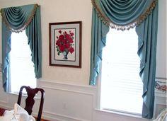 Dining Room Interior Design Ideas-Window Treatment