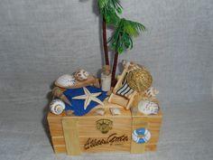 Gastgeschenke - Geschenkbox / Geldgeschenk Urlaub,Reisen,Strand - ein Designerstück von Bastelmaus--- bei DaWanda