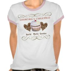 Grandma's Sweeties, Personalized Tee Shirt #Personalized #tshirt
