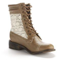 Unleashed by Rocket Dog Giuliana Combat Boots - Women-wedding boots?