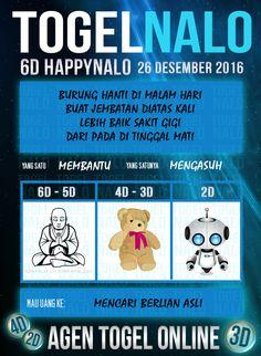 Prediksi 4D Togel Wap Online Live Draw 6D Kupon HappyNalo Jakarta 26 Desember 2016