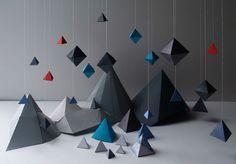 3D Paper Sculpture Naomi Kolsteren