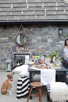 If you didn't grab a copy of the shelves or were busy enjoying the sunshine outside ... my backyard patio was featured in Style At Home at the beginning of the summer. It truly show…