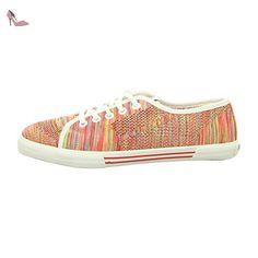 Pepe Jeans  Pls30482-245, Chaussures de ville à lacets pour femme - rouge - Redwood, - Chaussures pepe jeans (*Partner-Link)