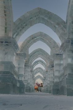 Ice & Snow Festival in Harbin, China (by Flitze50).